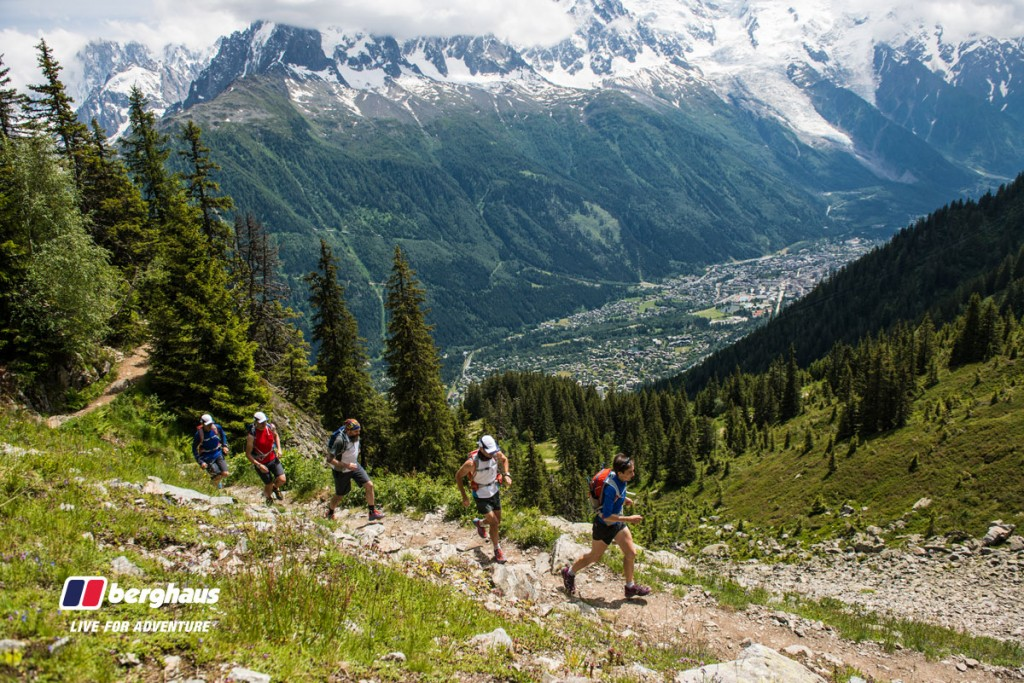 The Berghaus Trail Team 2014 - Chamonix